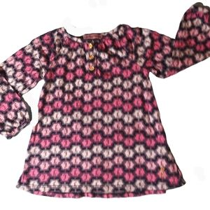 Girls Juicy Couture logo dress pink 18-24mth 2T